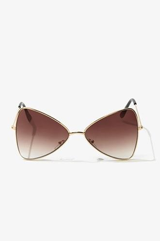 Forever21 Geo Tinted Sunglasses