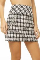 Forever21 Chained Tweed Skirt