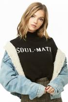 Forever21 Soul Mate Brushed Knit Sweater