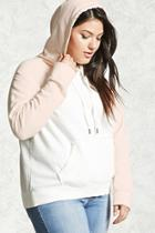 Forever21 Plus Size Colorblock Hoodie