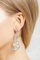 Forever21 Moon & Star Drop Earrings
