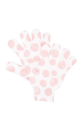 Forever21 Polka Dot Exfoliating Gloves