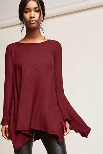Forever21 Ruffled Trapeze Top