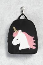 Forever21 Fuzzy Unicorn Backpack