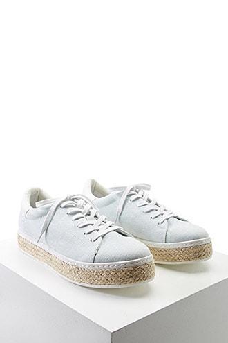 Forever21 Denim Flatform Sneakers