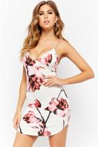 Forever21 Floral Bodycon Mini Dress