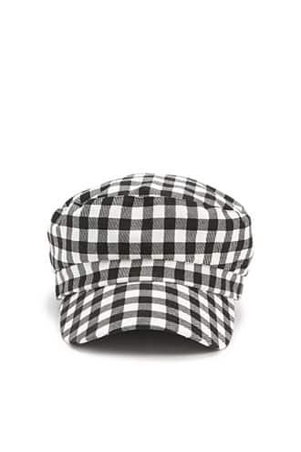 Forever21 Gingham Cabby Hat