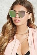 Forever21 Mirrored Cateye Sunglasses