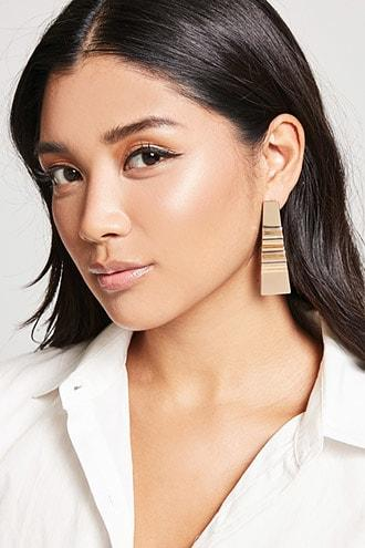 Forever21 Abstract Drop Earrings