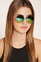 Forever21 Gradated Round Sunglasses