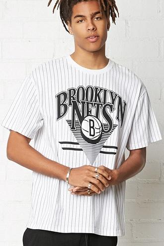 Forever21 Nba Brooklyn Nets Crew Neck Tee