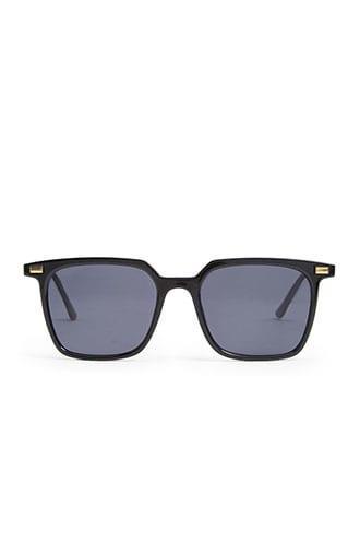 Forever21 Men Square Tinted Sunglasses