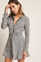 Forever21 Plaid Zip-front Jacket