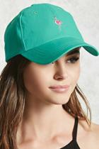 Forever21 Flamingo Embroidered Dad Cap