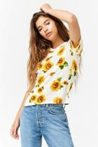 Forever21 Sunflower Graphic Tee