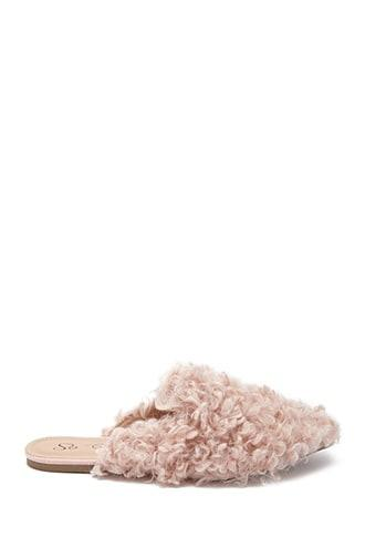Forever21 Faux Shearling Flats