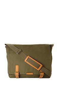 Forever21 Canvas Messenger Bag