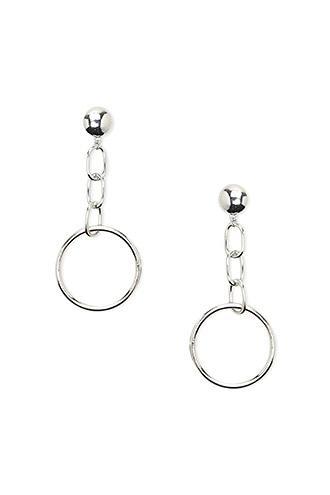 Forever21 Key Ring Chain Drop Earrings