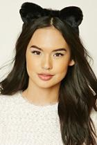Forever21 Faux Fur Cat Ears Headband