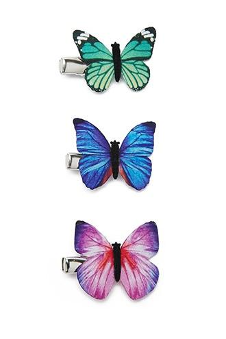 Forever21 Butterfly Hair Clips