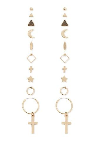 Forever21 Assorted Stud & Drop Earring Set