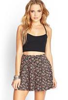 Forever21 Ditsy Floral Skater Skirt