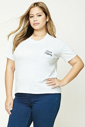 Forever21 Plus Size Road Tripping Tee
