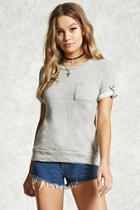 Forever21 French Terry Sweater Top