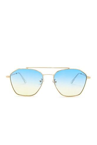 Forever21 Ombre-tinted Metal Frame Sunglasses