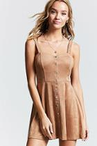 Forever21 Contemporary Faux Suede Dress