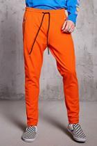 Forever21 Zip Pocket Sweatpants