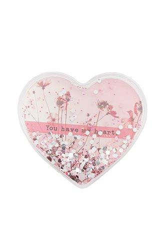 Forever21 Heart Waterfall Jewelry Box