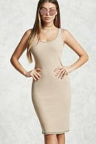 Forever21 Waffle-knit Bodycon Dress