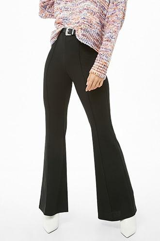 Forever21 Seam Flare Pants