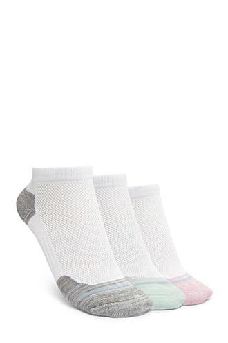 Forever21 Active Ankle Socks - 3 Pack