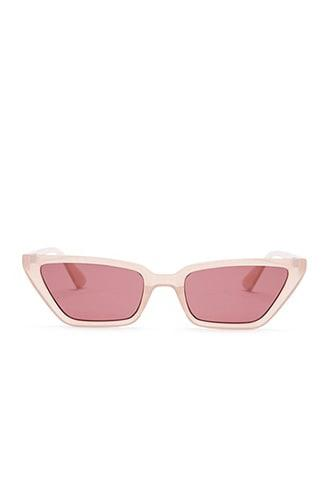 Forever21 Translucent Cat-eye Sunglasses