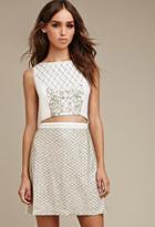 Forever21 Raga Beaded Sequins Skirt
