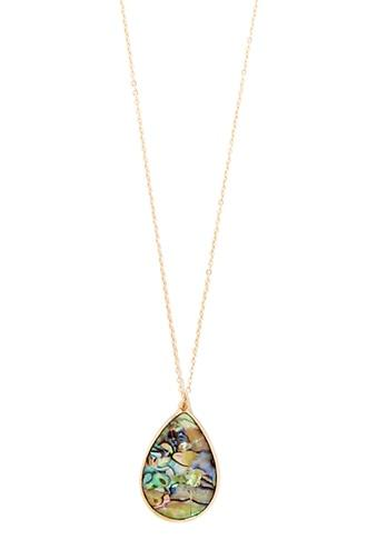 Forever21 Iridescent Pendant Necklace
