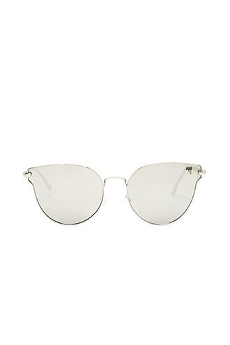 Forever21 Melt Flat Cateye Sunglasses