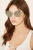 Forever21 Mirrored Square Sunglasses