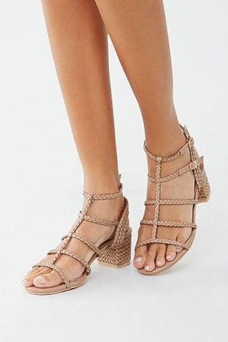 Forever21 Braided Block Heels