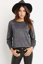 Love21 Metallic Knit Sweater