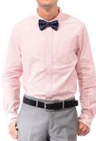 21 Men Men's  Classic Collar Shirt (light Pink)