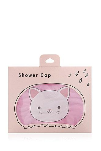Forever21 Cat Graphic Shower Cap