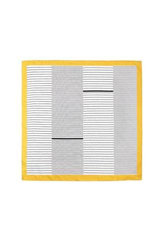 Forever21 Satin Contrast-trim Striped Scarf