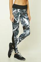 Forever21 Active Abstract Print Leggings