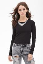 Forever21 Textured Knit Top