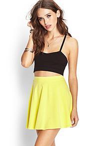 Forever21 Knit Skater Skirt
