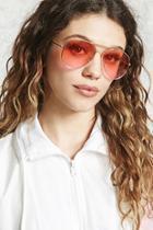 Forever21 Ombre Aviator Sunglasses