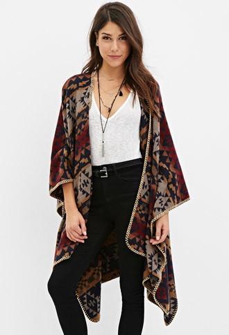 Love21 Southwestern-patterned Shawl